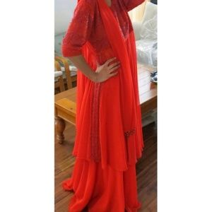 other Dresses - Red Lengha Indian outfit